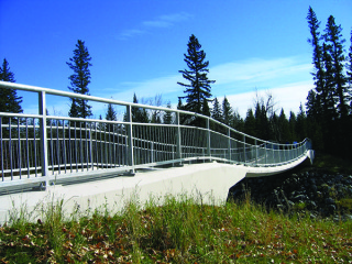 New Pedestrian Bridge