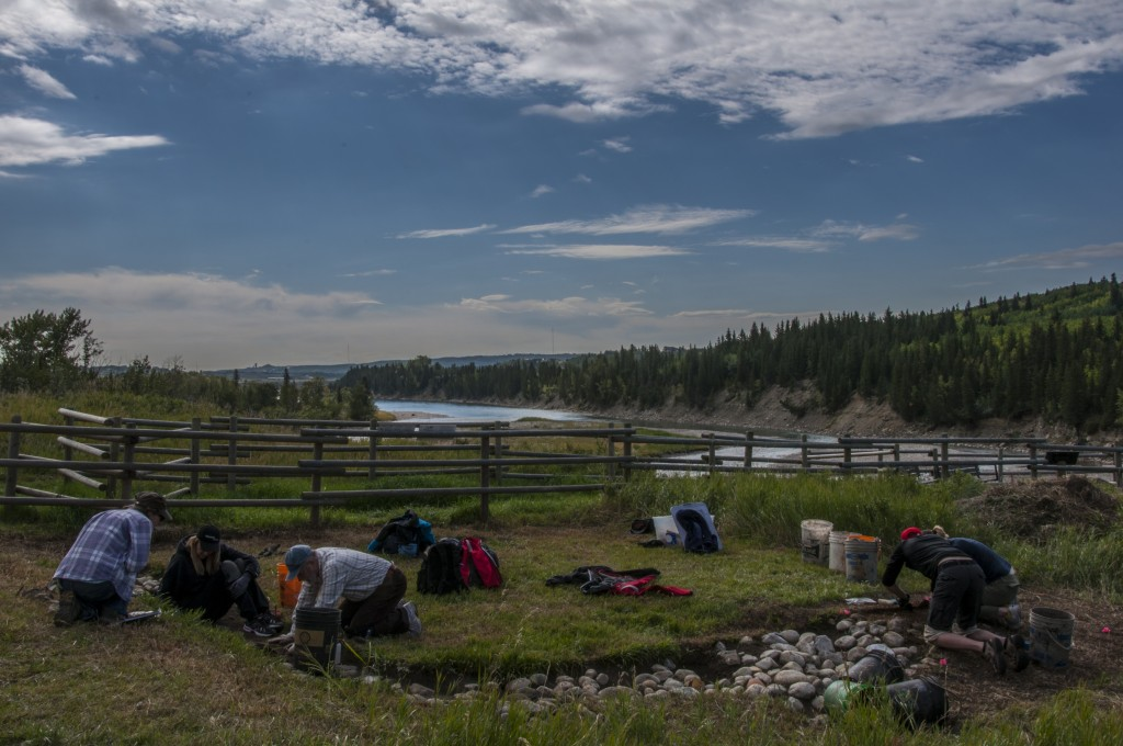 Archaeological excavations at Glenbow Ranch