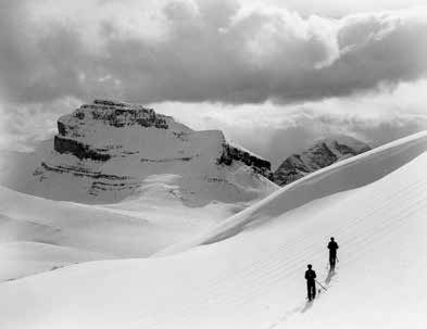Cliff White was one of the first to promote the Canadian Rockies as a ski destination. WMCR V683-Ic2b-pa139-112