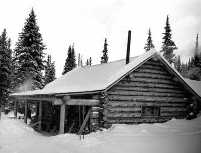 The original Skoki Lodge about 1931. WMCR Lloyd Harmon V108 331A